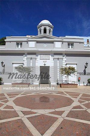 Museum, Puerto Rico Tourism Company, Paseo de la Princesa (Walkway of the Princess), Old San Juan, Puerto Rico, West Indies, Caribbean, United States of America, Central America