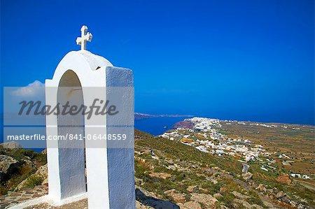 Oia (Ia), Santorini, Cyclades, Greek Islands, Greece, Europe