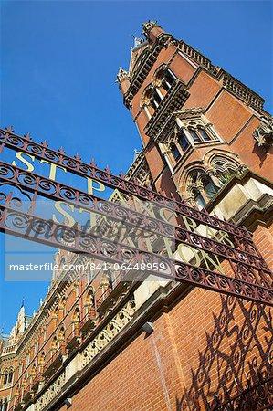 Entrance, St.Pancras International Station, London, England, United Kingdom, Europe