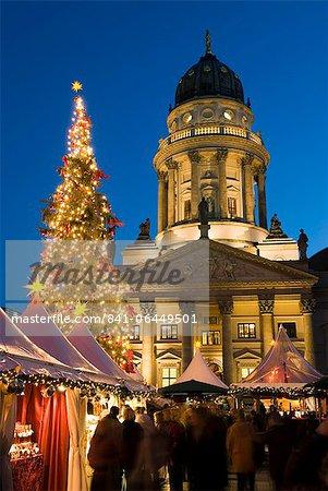Christmas market, Gendarmenmarkt, Berlin, Germany, Europe