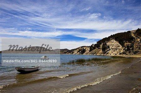 Kollabaya, Challapampa, Isla del Sol, Lake Titicaca, Bolivia, South America