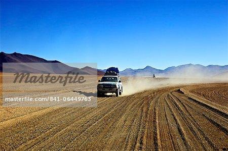 A 4x4 on the Southwest Circuit Tour, Bolivia, South America