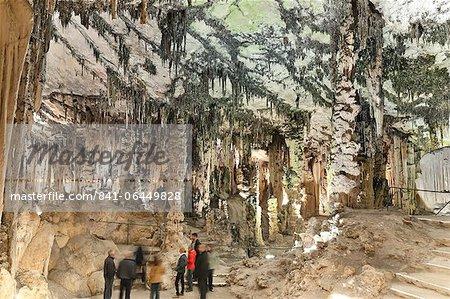 Inside the Caves d'Arta, Llevant, Mallorca, Balearic Islands, Spain, Europe