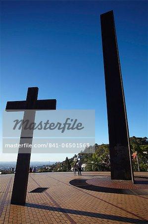 Monuments at Praca do Papa (Pope's Square), Belo Horizonte, Minas Gerais, Brazil, South America