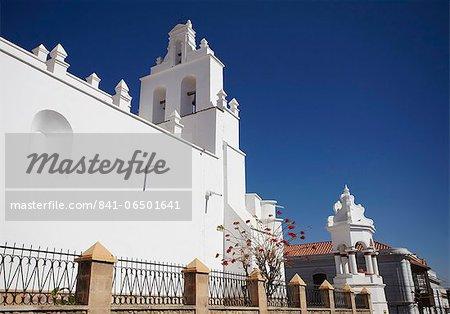 Iglesia de Santo Domingo, Sucre, UNESCO World Heritage Site, Bolivia, South America