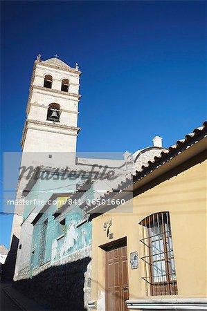 Convento de San Francisco, Potosi, UNESCO World Heritage Site, Bolivia, South America