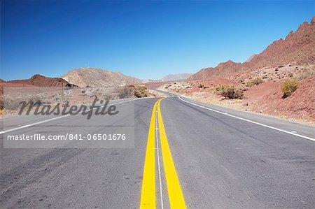 Road in Altiplano, Potosi Department, Bolivia, South America