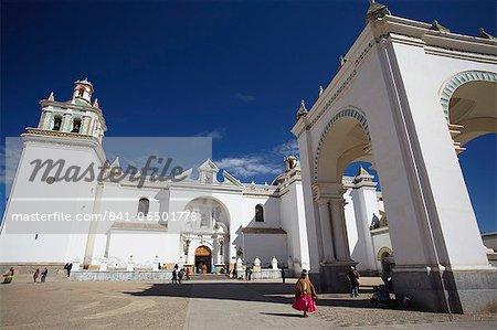 Copacabana Cathedral, Copacabana, Lake Titicaca, Bolivia, South America