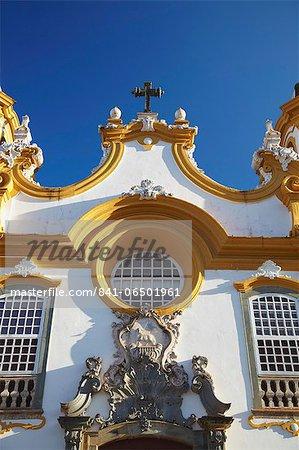 Matriz de Santo Antonio Church, Tiradentes, Minas Gerais, Brazil, South America