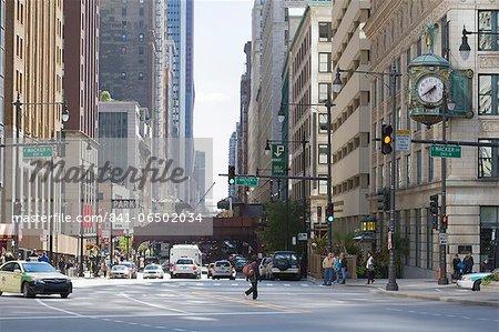 The Loop, Chicago, Illinois, United States of America, North America