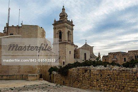 Basilica San Gorg, Gozo, Malta, Europe