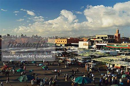 Jemaa El Fna, Medina, Marrakesh, Morocco, North Africa, Africa