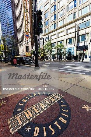 Theatre District, Chicago, Illinois, United States of America, North America