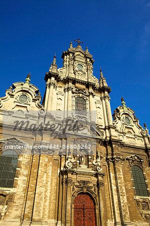 Eglise St. Jean Baptiste au Beguinage, Brussels, Belgium, Europe