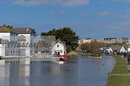 Bude Canal, North Cornwall, England, United Kingdom, Europe