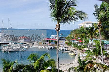 The Leverick Bay Resort and Marina, Virgin Gorda, British Virgin Islands, West Indies, Caribbean, Central America