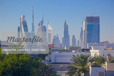 City skyline, Dubai, United Arab Emirates, Middle East