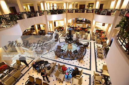 Lobby of Adlon Hotel, Berlin, Germany, Europe