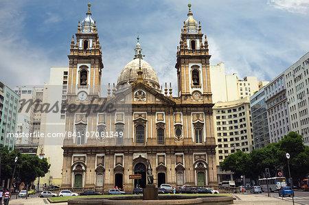 La Candelaria Church, Rio de Janeiro, Brazil, South America