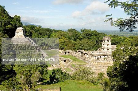 Palenque, UNESCO World Heritage Site, Mexico, North America