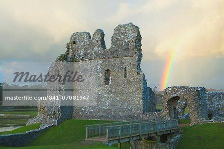 Ogmore Castle, Bridgend, Wales, U.K.