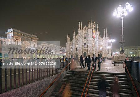 Duomo (Milan Cathedral), Milan, Lombardy, Italy, Europe