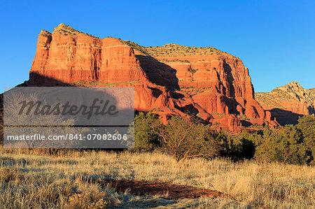 Courthouse Rock, Sedona, Arizona, United States of America, North America