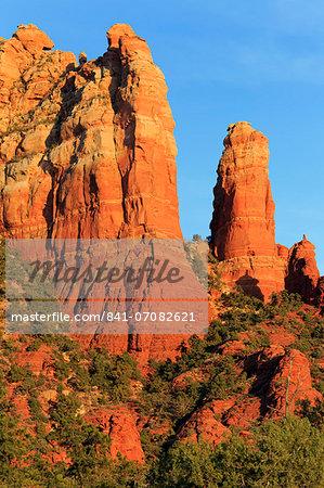 Rock formations in Sedona, Arizona, United States of America, North America