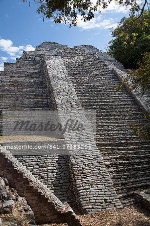 Tenam Puente Archaeological Zone, Chiapas, Mexico, North America