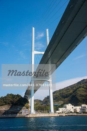 Megami Bridge, Nagasaki, Kyushu, Japan, Asia