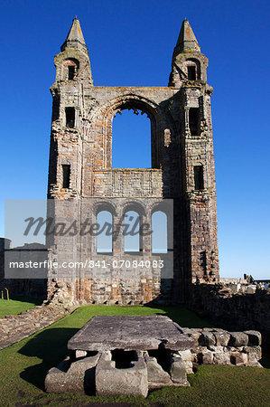 St., Andrews Cathedral, Fife, Scotland, United Kingdom, Europe