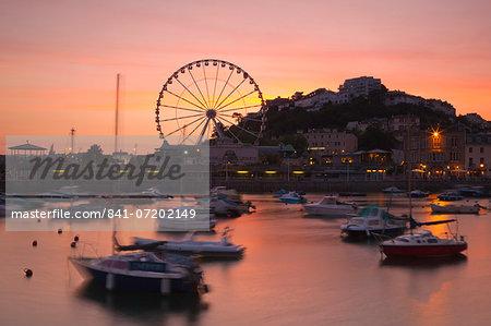 Torquay Harbour, Devon, England, United Kingdom, Europe