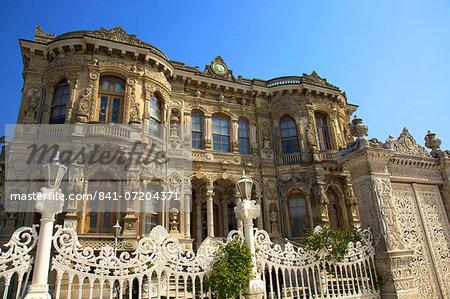 Kucuksu Palace, Beykoz, Anatolia, Turkey, Asia Minor, Turkey, Eurasia