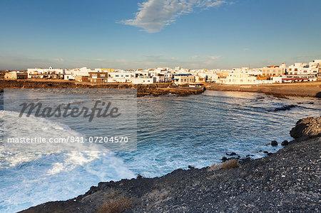 Old port, El Cotillo, Fuerteventura, Canary Islands, Spain, Atlantic, Europe