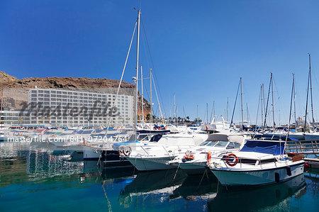 Marina, Puerto Rico, Gran Canaria, Canary Islands, Spain, Atlantic, Europe