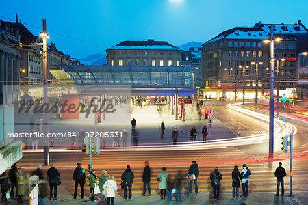 Bern train station, Bern, Switzerland, Europe