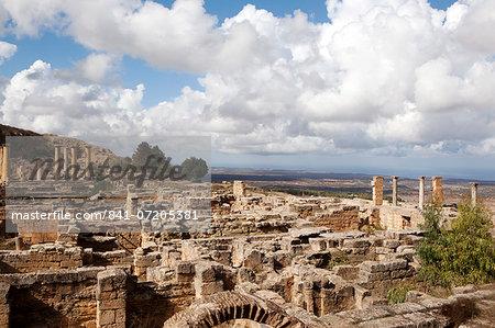 The Acropolis of Cyrene, UNESCO World Heritage Site, Libya, North Africa, Africa