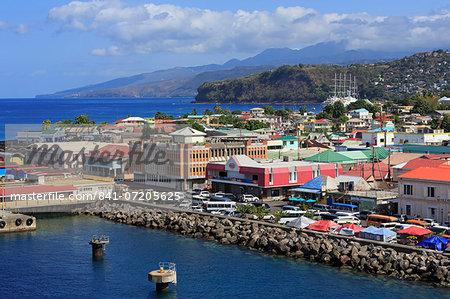 Port of Roseau, Dominica, Windward Islands, West Indies, Caribbean, Central America