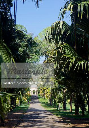 Royal Botanical Gardens, Peradeniya, Kandy, Sri Lanka, Asia