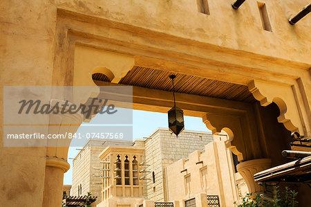 Souk Madinat, Dubai, United Arab Emirates, Middle East