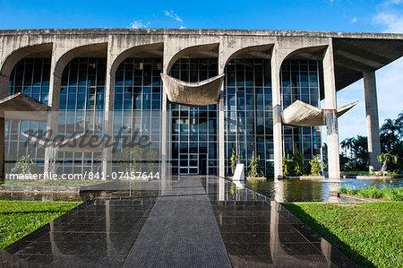 Ministry of Justice, Brasilia, UNESCO World Heritage Site, Brazil, South America