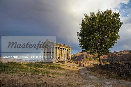Garni Temple, Garni, Yerevan, Armenia, Central Asia, Asia