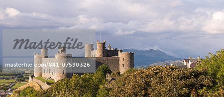 Harlech Castle, UNESCO World Heritage Site, Snowdonia National Park, Gwynedd, Wales, United Kingdom, Europe