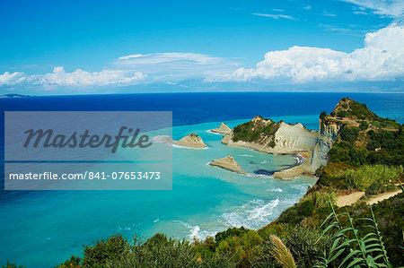 Drastis Cape near Sidari village. Corfu, Ionian Islands, Greek Islands, Greece, Europe