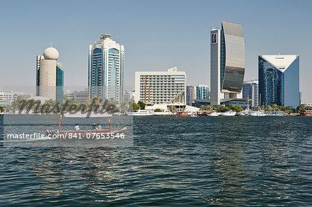 Dubai Creek Tower, Dubai Creek, Dubai, United Arab Emirates, Middle East
