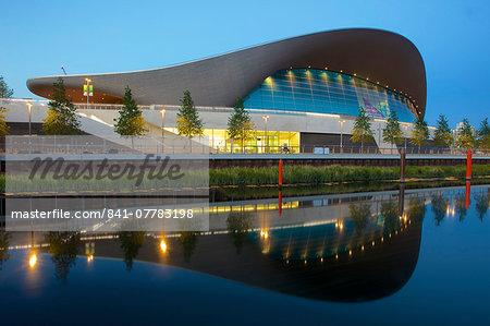Aquatics Centre in the 2012 London Olympic Park, Stratford, London, England, United Kingdom, Europe