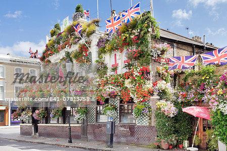 Churchill Arms Pub, Kensington, London, England, United Kingdom, Europe