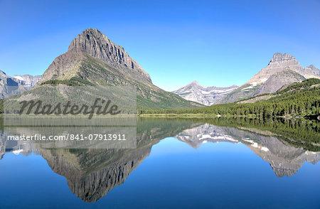 Swiftcurrent Lake, Many Glacier Area, Glacier National Park, Montana, United States of America, North America