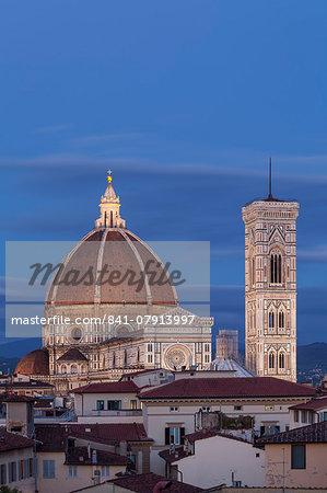 Basilica di Santa Maria del Fiore (Duomo), UNESCO World Heritage Site, Florence, Tuscany, Italy, Europe