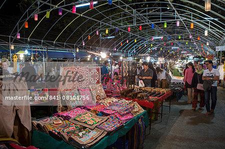 Chiang Mai night market, Chiang Mai, Thailand, Southeast Asia, Asia